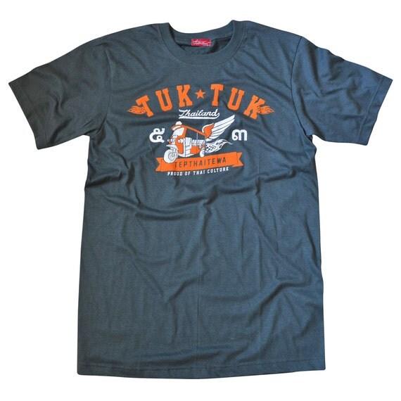 TepThaiTewa : Tuk Tuk Thailand Vintage Style Men's T-Shirt