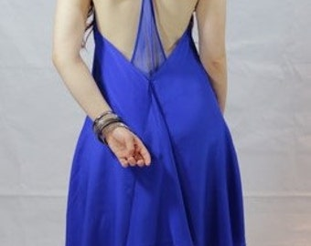 Women's Low Back Dress
