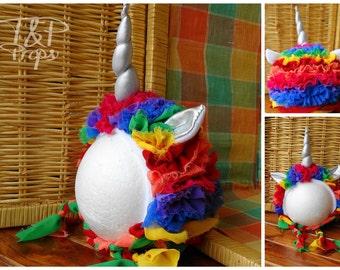 Unicorn Rainbow Bonnets