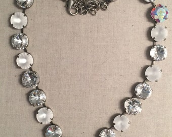 12mm Mixes Crystal Necklace