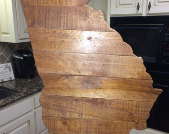 State of Georgia wood pallet