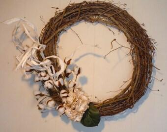 """18"""" Belle Haven Wreath"""