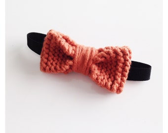 Bow tie 100% cotton natural