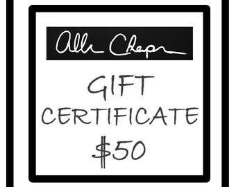 Gift Certificate redeamable all year long, gift for her, gift for him, home deco, man cave, art, wall art