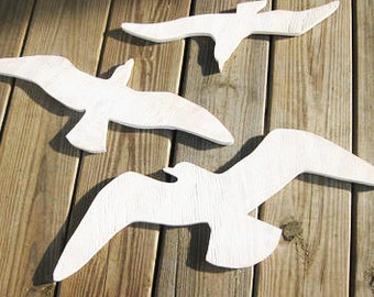 Wooden fish wall decor