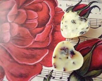 Luxurious Vegan Bath Melts (4 Piece)- Cocoa, Shea & Mango Butter
