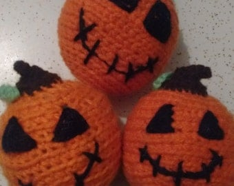 3 piece Ornaments, hanging balls, Halloween, Christmas, home décor, accessory.