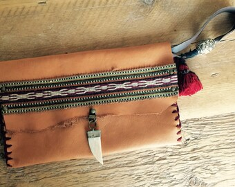 Nomad chic clutch