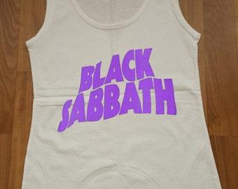 Black Sabbath Women Top Black Sabbath Tank Top Black Sabbath T-shirt Rock Tank Top
