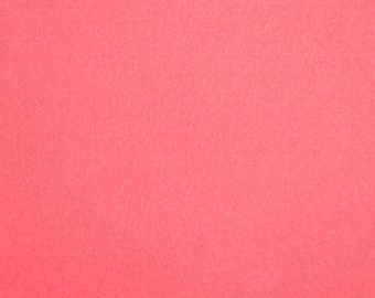 27 - Neon Pink - Merino Wool Felt