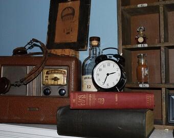 Vintage Aria Superheterodyne Radio Headphones