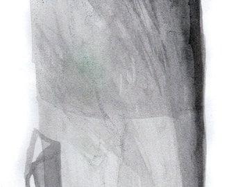 ON SALE Flashlight 4 Original India Ink Painting