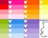 Ombre Heart Checklist for Erin Condren