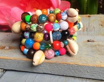 "Bracelet multi-row ""Color #1 swing"""