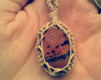Fire Faerie Necklace