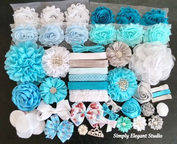 elsa frozen inspired headband kit baby shower headband kit infant