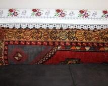 Turkish Carpet Extra Long Lumbar Pillow 16x48 Turkish Lumbar Pillow 16x48 Kilim Pillow,Anatolian Rug Pillow,King Size Pillow,Bed Pillow 3