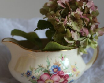 J.FRYER & SON Milk Jug with a Lovely Floral Pattern