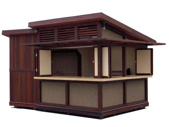 Food or store kiosk oahu hawaii only for Exterior kiosk design