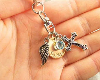 Memorial Keychain & Keepsake~ Infant Loss~ Funeral Gift~ Stillborn Gift