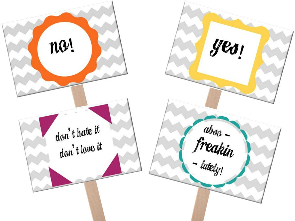 Say Yes to the Dress sign yes to dress paddle wedding dress
