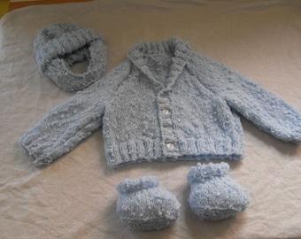 Handknitted Boy's set