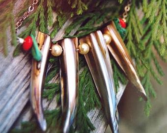 Long Abalone Necklace