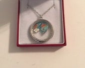 Stainless Steel My Little Pony Charm Pendant Necklace