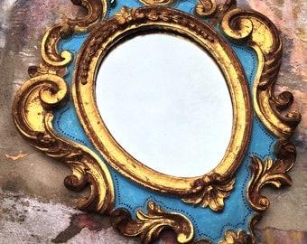 Hand Painted Boho Mirror