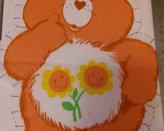 vintage care bears panel friend bear