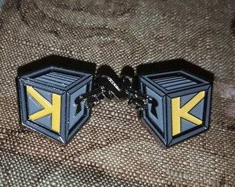 Black Keys N Krates Pin