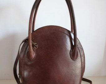 BOSBOOM vintage Brown Leather handbag