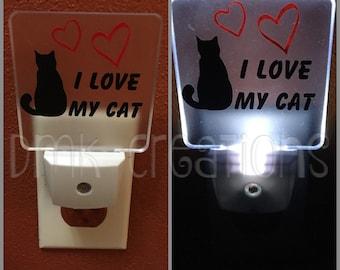 Night Light, I Love My Cat