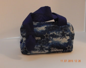 Dallas Cowboy's Barrel Purse