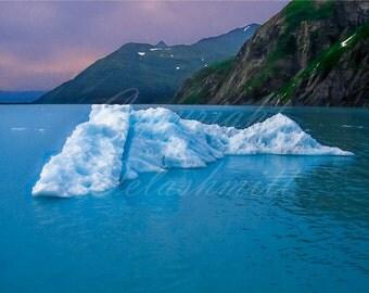 Iceberg, Portage Glacier, Alaska