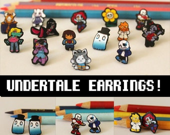 Undertale Earrings