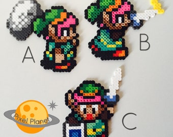 The Legend of Zelda: A Link to the Past Perler Beads Sprite Collection