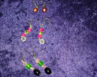 Tripple earrings!!