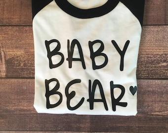 Baby Bear Raglan Tee