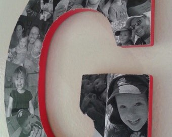 Customized Picture & Collage Letters