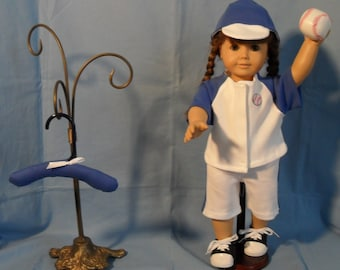 18 Inch Boy or  Girl Doll Baseball Uniform