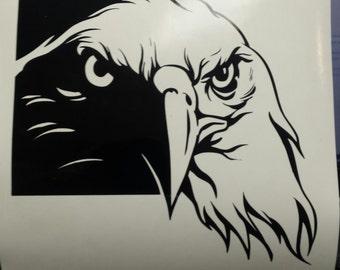 Eagle Head Decal