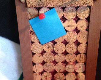 Wine Cork Note Frame