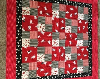 Olivia baby quilt