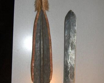 VIintage African spears