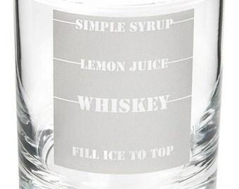 whiskey sour etsy