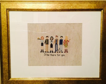 Friends The TV Show Cross Stitch Creation