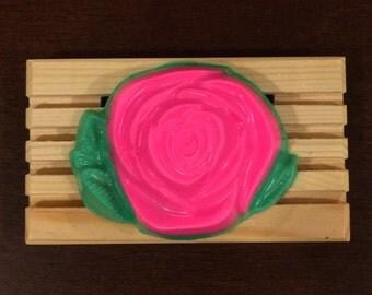 Handmade Rose Soy Soap