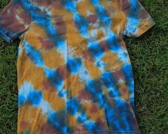 Kids Sz 10 Organic Cotton Tie Dye T Shirt