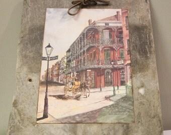 Slate New Orleans Etsy